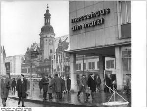 Leipzig, Markt, Messehaus am Markt